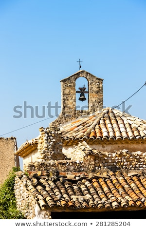 chapel in Ajonc, Provence, France Stock photo © phbcz