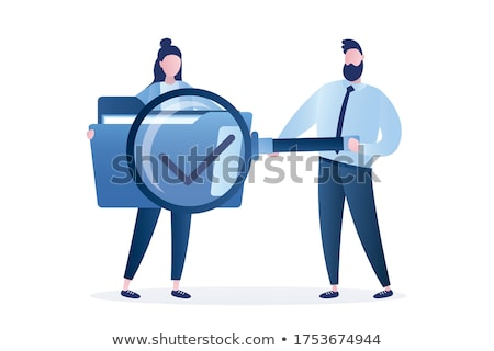 Folder in Catalog Marked as Cases. Stock photo © tashatuvango