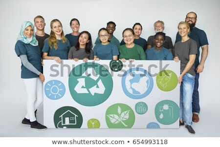 environment word shows earth friendly and eco friendly stock photo © stuartmiles