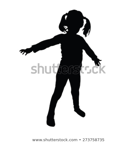 standing children with a toy stock photo © phbcz