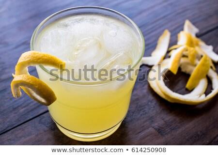 Yellow Bird is a cocktail Stock photo © netkov1