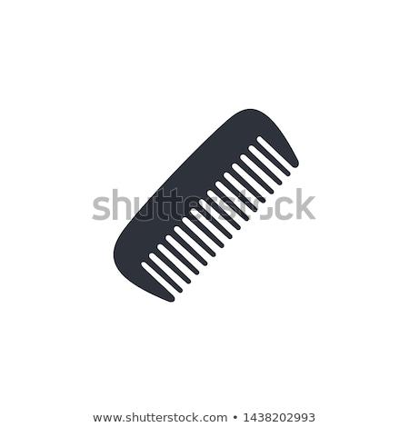 Comb Icon Illustration design Stock photo © kiddaikiddee
