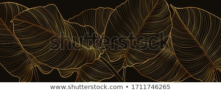 Stock photo: Abstract Trees Background