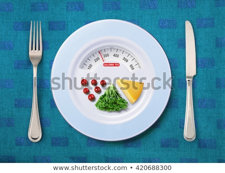 calorie tot of food Stock photo © ssuaphoto