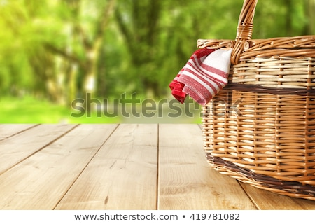 Picnic Stock photo © racoolstudio