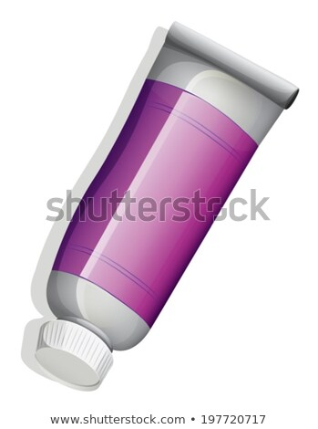 A topview of a violet tube Stock photo © bluering