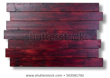 Mahonie gebeitst hout houten textuur exemplaar ruimte Stockfoto © ozgur