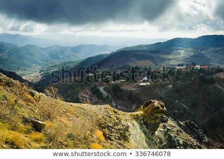 山 冬 キプロス 自然 白 ストックフォト © Kirill_M