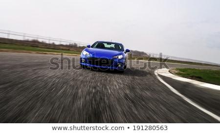 sport car on track stock photo © jossdiim