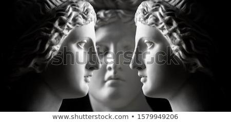 Visage statue classique déesse concrètes à l'extérieur Photo stock © searagen