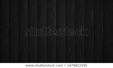 Vector color painted wood texture background design. Natural dark vintage wooden illustration. Stock photo © articular