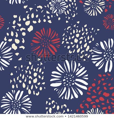 USA patriotic stationery abstract Stock photo © milsiart