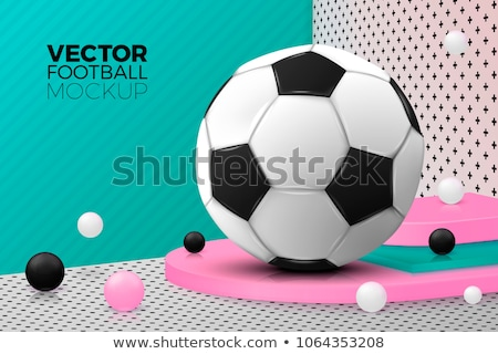 russia soccer podium Illustrator. design graphic Stock photo © alexmillos