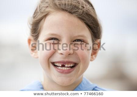 смеяться Cartoon человека стоматологических концепция эмоций Сток-фото © blamb