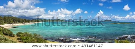 Kailua Bay, Oahu stock photo © dirkr