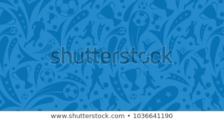 soccer tournament background with football Stock photo © SArts