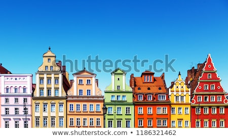Colorful architecture of Market Square in Wroclaw Stock photo © benkrut