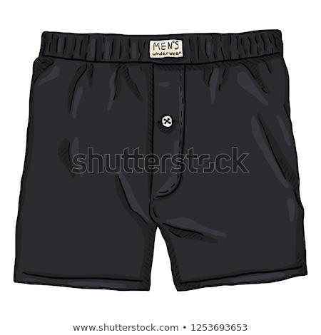 Alsónemű elöl kilátás sablon terv ruházat Stock fotó © popaukropa