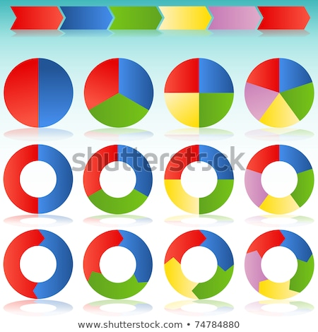 Business Processes Chart from Various Icons Set Stock photo © robuart