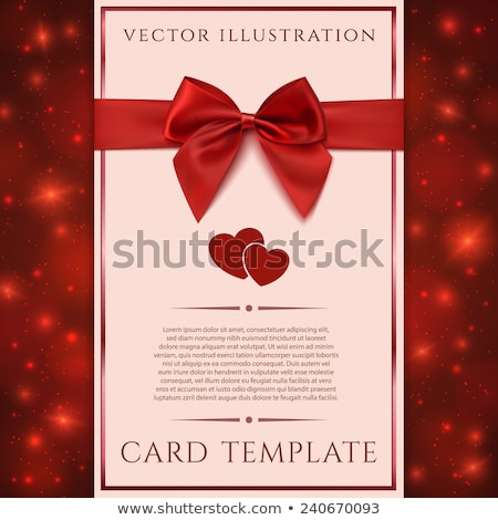 Valentine card with two cupids Stock photo © Artspace