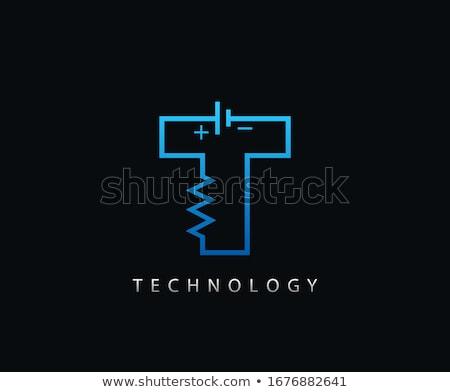 mektup · özel · marka · şirket · şablon · logo - stok fotoğraf © blaskorizov