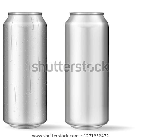 Aluminum Can Stock photo © albund