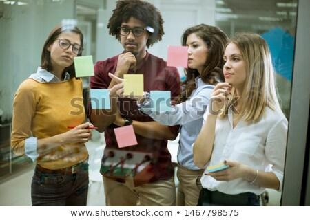 grupy · mężczyzn · spotkanie · twórczej · biuro · działalności - zdjęcia stock © boggy