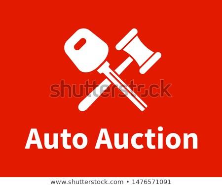 Auto veiling logo-ontwerp bedrijf embleem computer Stockfoto © netkov1