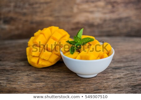 манго · тропические · желтый · свежие · Sweet · диета - Сток-фото © galitskaya