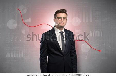 beurs · virus · angst · stier · beer · economisch - stockfoto © ra2studio