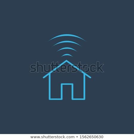 Smart domu Internetu domu wifi czas Zdjęcia stock © kyryloff