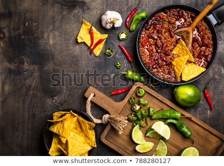Chili con carne in a frying pan Stock photo © Alex9500