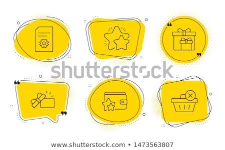Fidélité programme ligne client cadeau Photo stock © -TAlex-