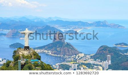 jesus · cristo · Rio · de · Janeiro · turistas · feliz · ver - foto stock © mayboro