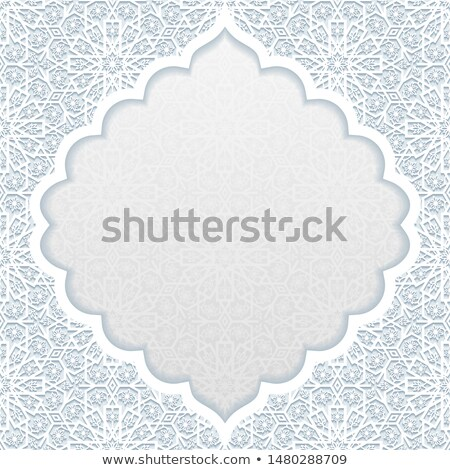 Tradicional floral ornamento flor papel abstrato Foto stock © AbsentA
