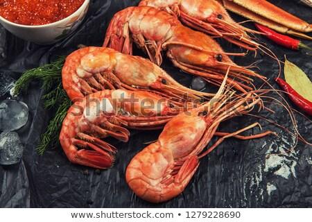 Closeup of far eastern botan shrimp Stock photo © olira