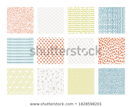 set of abstract scribble bold pen elements  Stock photo © SArts