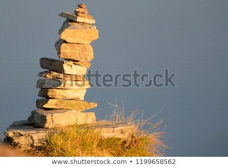 Pietra himalaya montagna sopra valle montagna Foto d'archivio © dmitry_rukhlenko