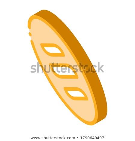パン 長い ローフ 食品 アイソメトリック ストックフォト © pikepicture