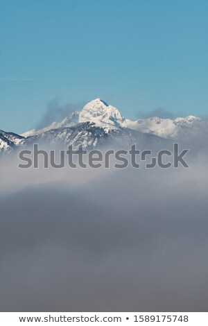 Triglav, highest peak in the Beautiful Julian Alps. Stock photo © lithian