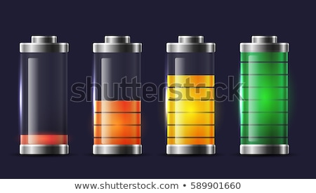 Battery with various loads and colors  Stock photo © almoni