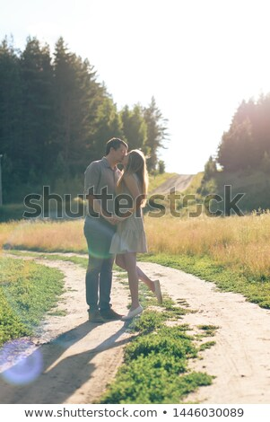 romantic couple in the park Stock photo © photography33