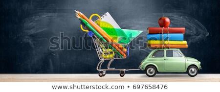 brinquedo · carros · carro · estacionamento · branco · natureza - foto stock © inxti
