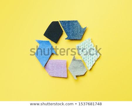 recycling conception text stock photo © deyangeorgiev