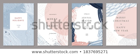 abstract winter background scene stock photo © konstanttin