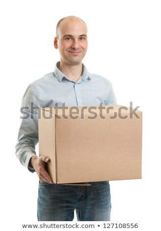 Lads packing boxes Stock photo © photography33