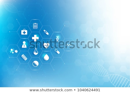 abstract medical icons  Stock photo © pathakdesigner