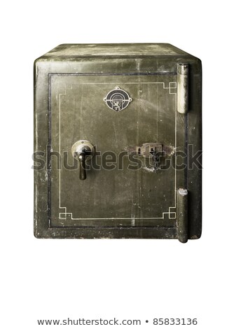 Green old safe Stock photo © crisp