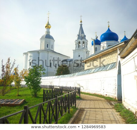 Road To Russian Orthodox Convent Vladimir Stock photo © michey