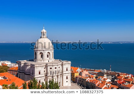 church panteao nacional lisbon portugal stock photo © inaquim